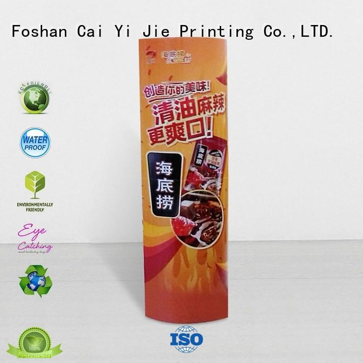 CAI YI JIE promotional cardboard lama standee durable for goods