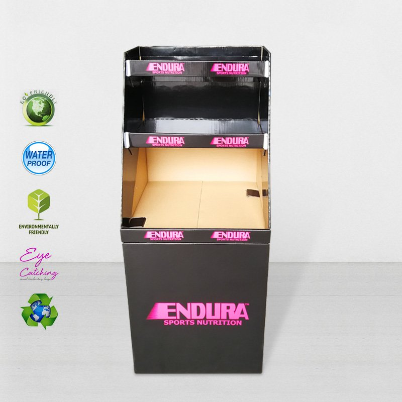 CAI YI JIE Corrugated Dumpbin Display for Product Retail Sale Cardboard Dumpbins image33