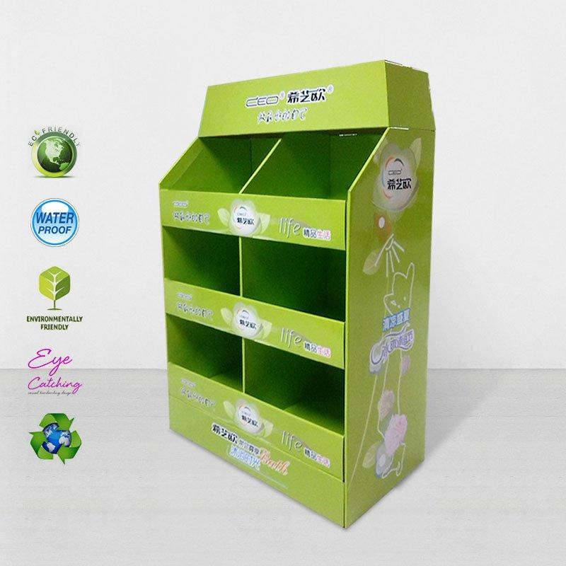 FSDU Paper Display Stand for Retail Shop and Chain Store