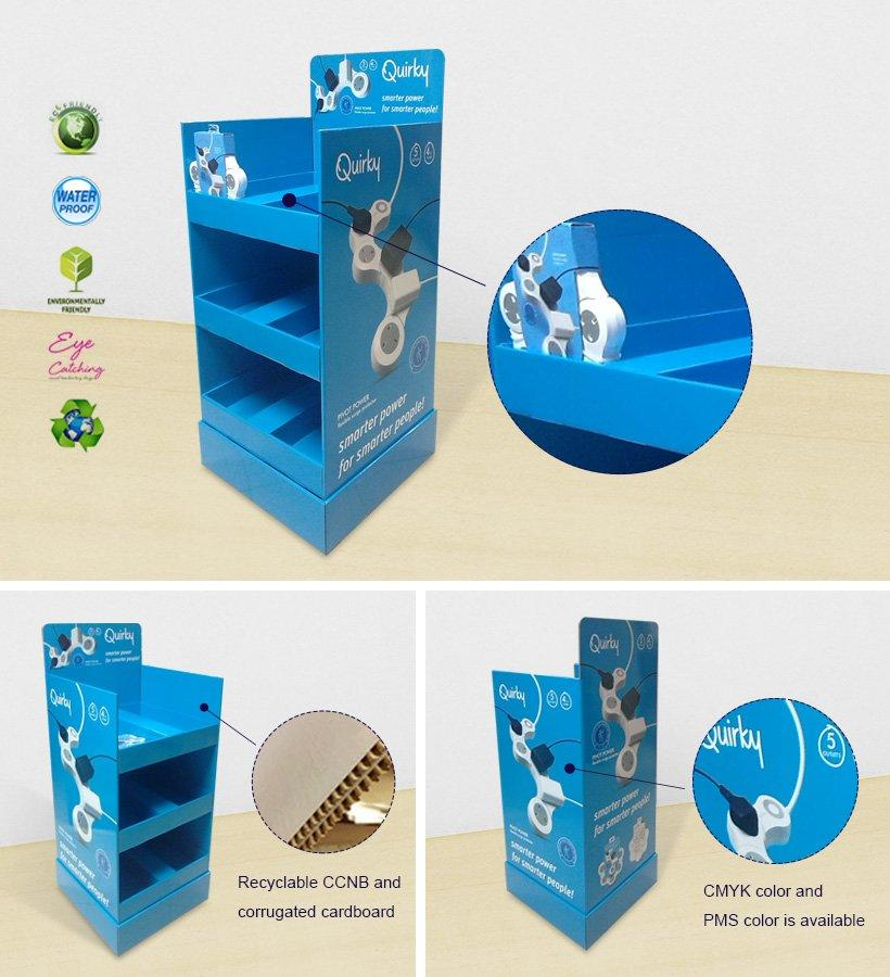 CAI YI JIE large cardboard display units items for supermarket