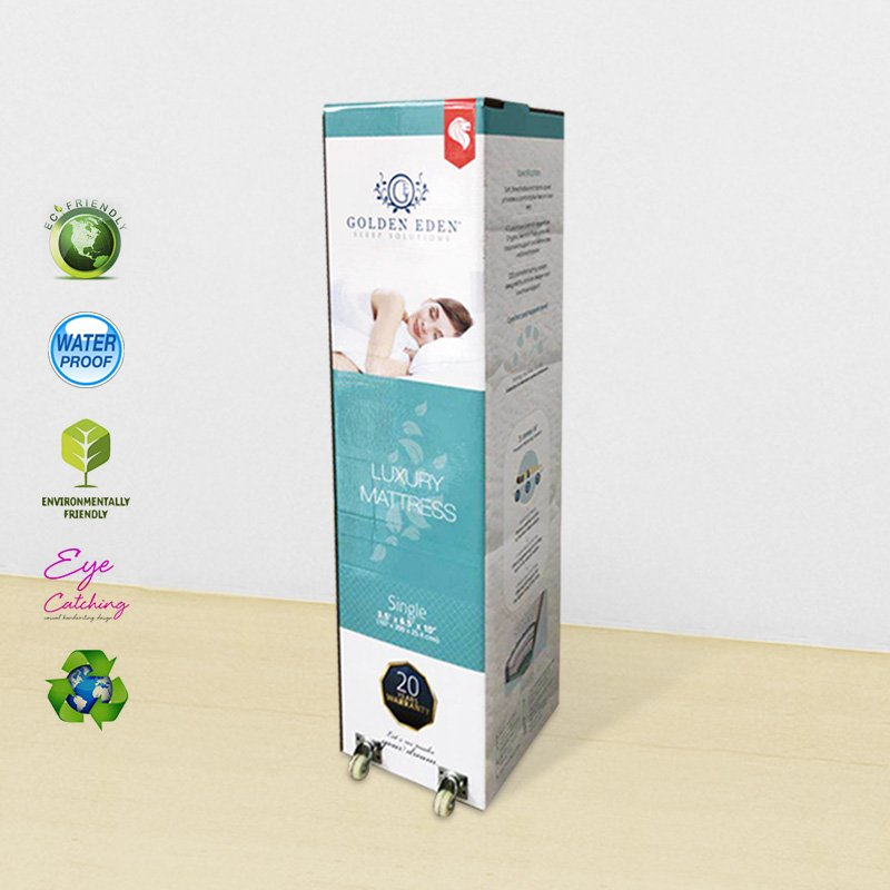 CAI YI JIE Printed Packaging Box With Wheel For Retail Cardboard Packaging Box image52