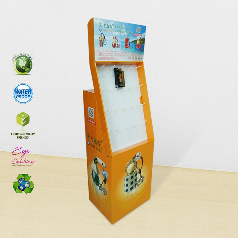 CAI YI JIE Automotive Perfume Paper Shelves Displays Stand Cardboard Hook Display image29