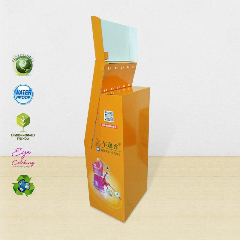 Automotive Perfume Paper Shelves Displays Stand