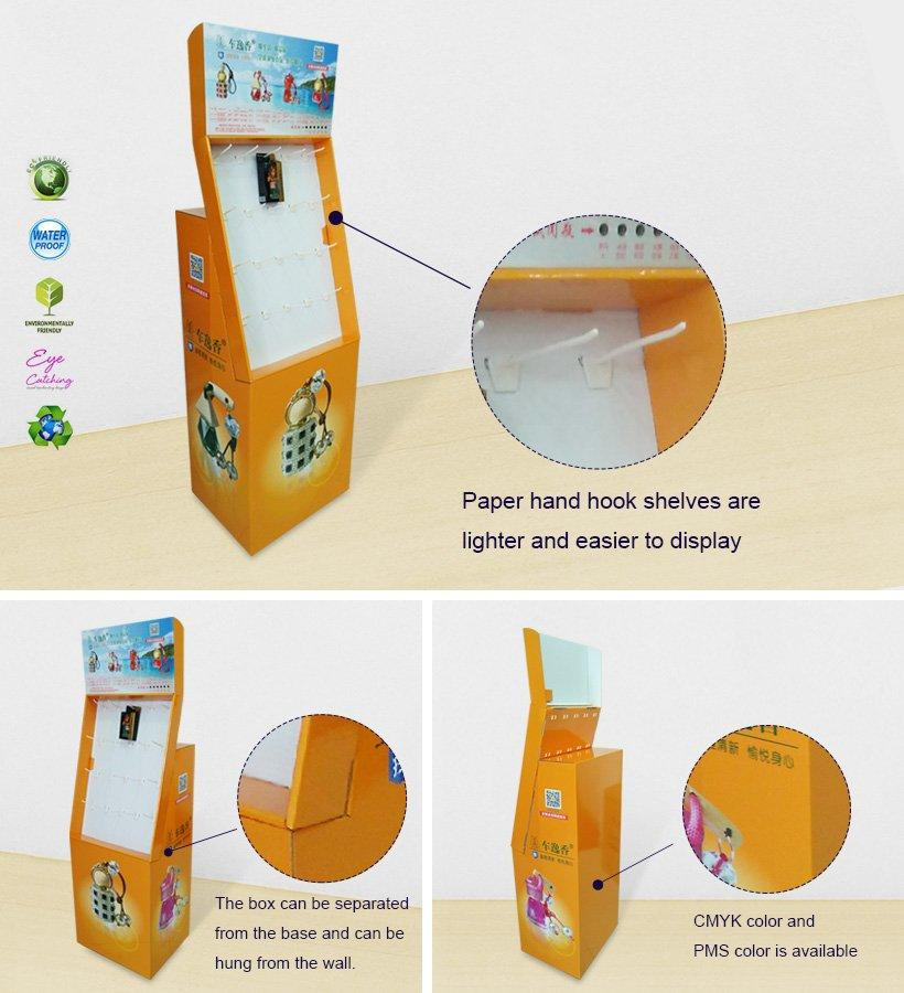 cardboard hook display sale for phone accessories CAI YI JIE