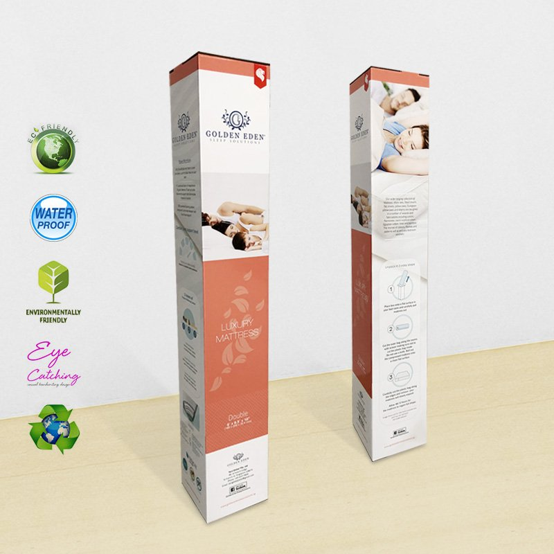 CAI YI JIE Fancy Extra Large Color Paper Packaging Box For Luxury Mattress Cardboard Packaging Box image31