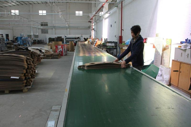 CaiYiJie Cardboard Display-Automatic Packaging Line