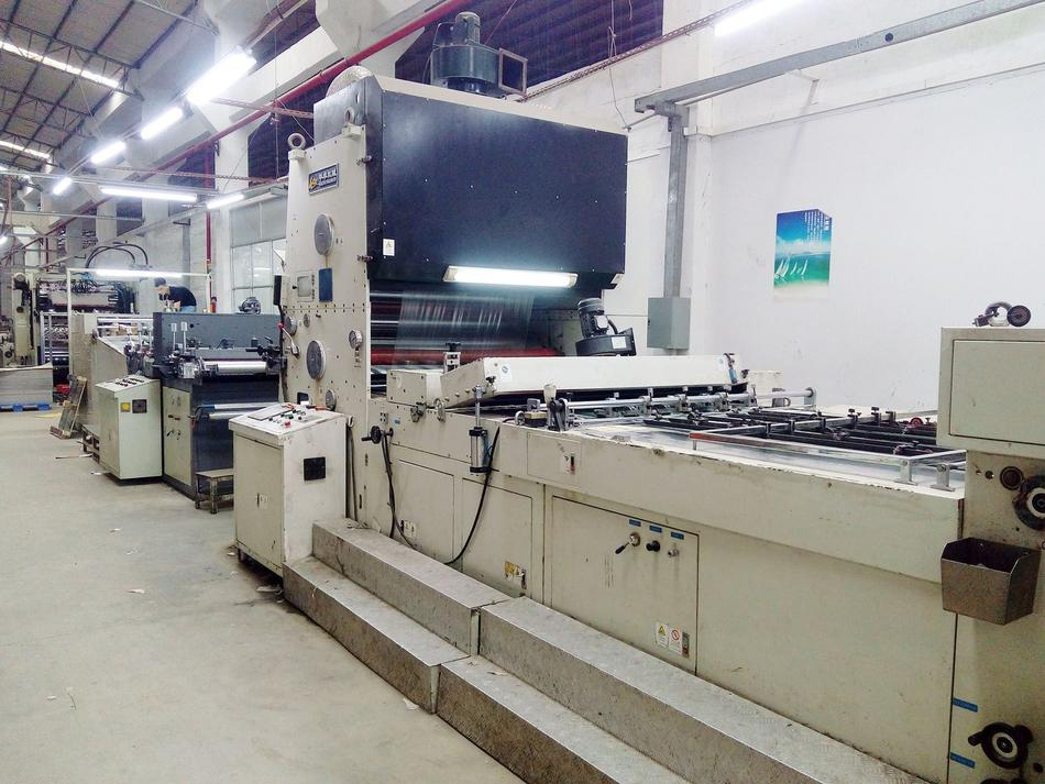 Plastic Automatic Film Laminating Machine for paper printing products