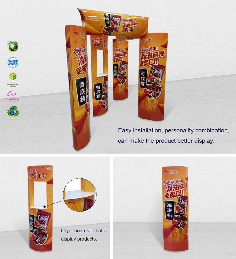 Cardboard Promotional Advertising Lama Display Stands