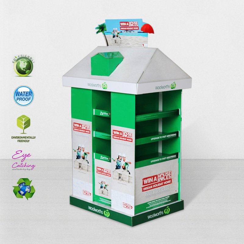 CAI YI JIE Promotional Pallet Display Stands For Woolworths Chain Store Cardboard Pallet Display image19