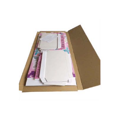 stainless retail CAI YI JIE Brand cardboard greeting card display stand factory