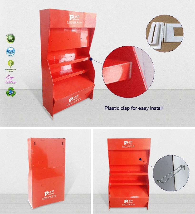 stiand cardboard pop displays point