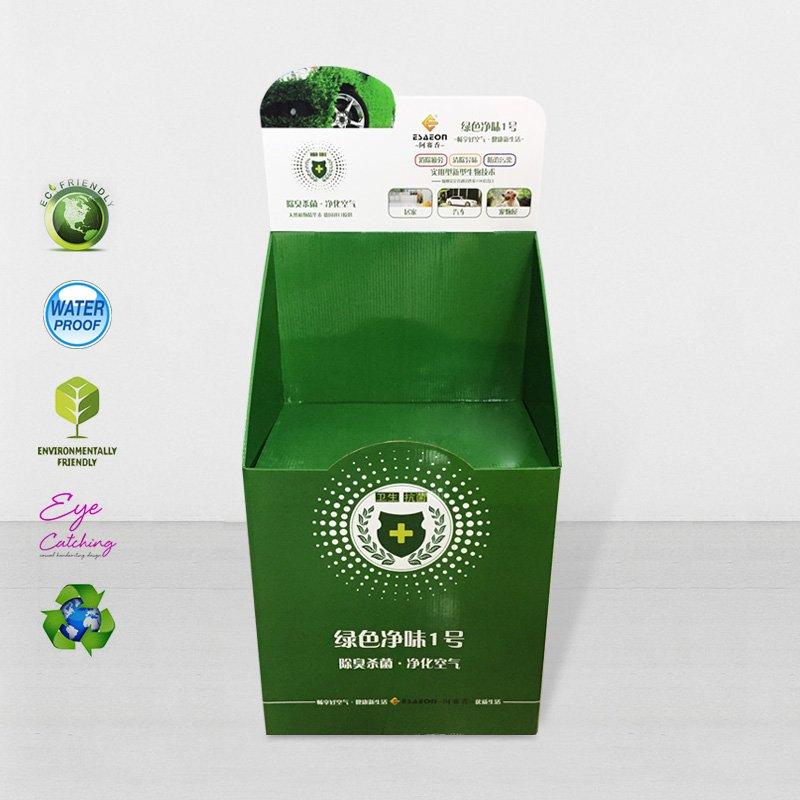 CAI YI JIE Cardboard Dumpbin For Supermarket Cardboard Floor Display image9