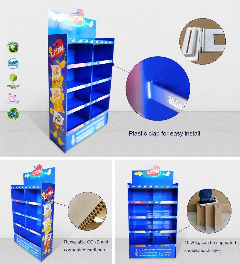 CAI YI JIE heavy cardboard product display stands displays fordrink