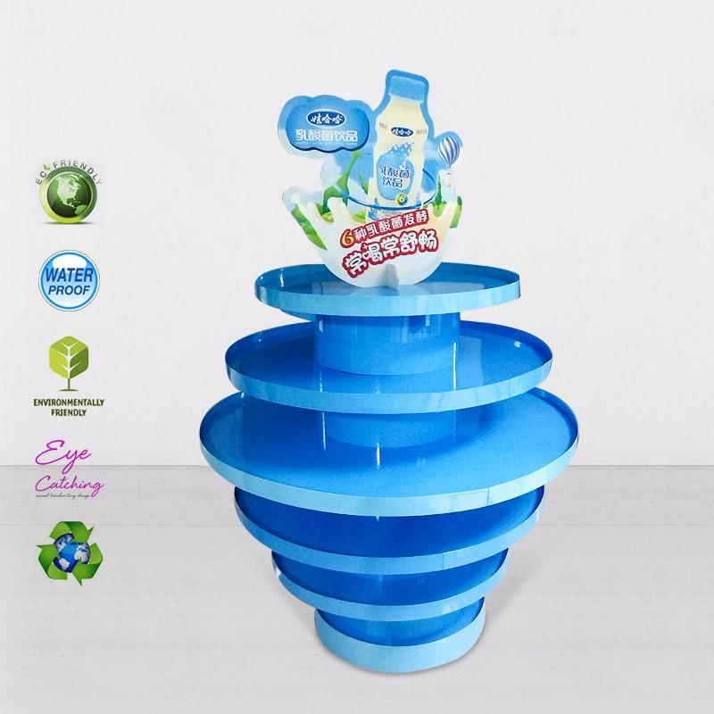 clip free standing display carton for shop CAI YI JIE
