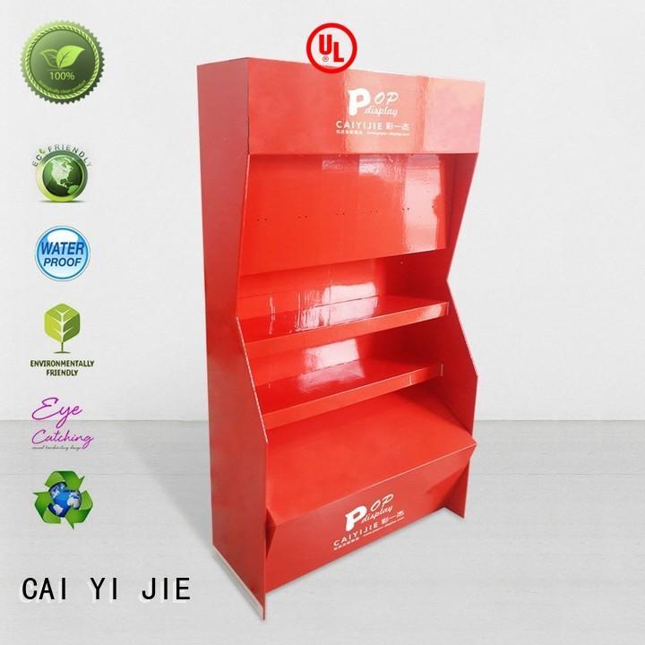 CAI YI JIE multifunctional cardboard box stand stiand for paper shelf