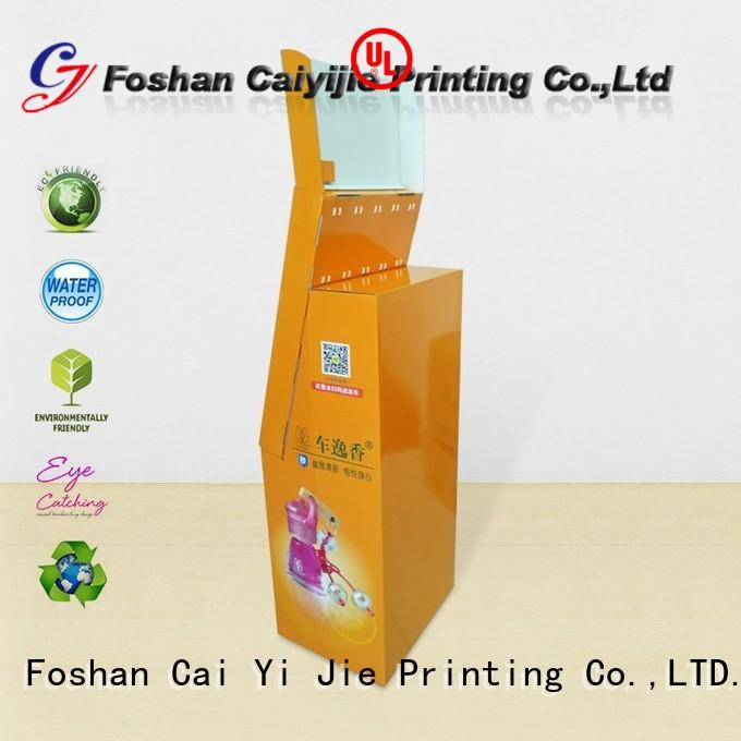 CAI YI JIE cheap product display stands manufacturer for supermarket