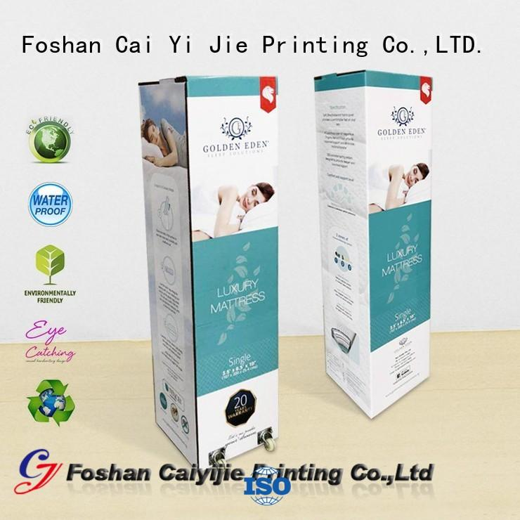 extra corrugated display boxes for milk display CAI YI JIE