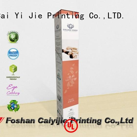 high-quality cardboard packaging color printing for milk display