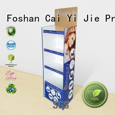 multifunctional cardboard display shelves chip