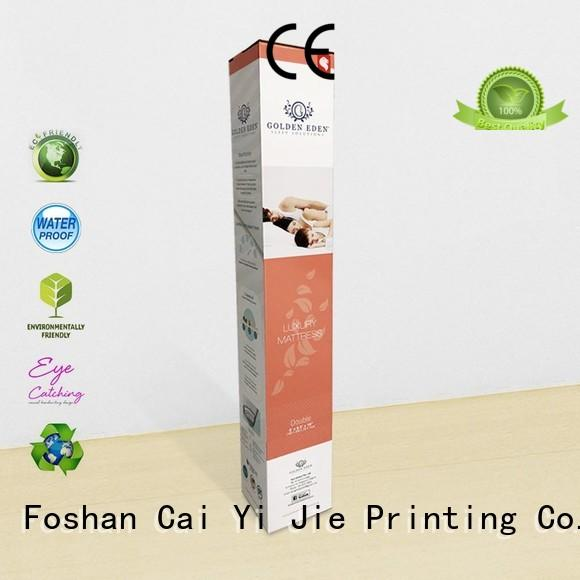 customization custom cardboard packaging printed packaging box for cup display CAI YI JIE