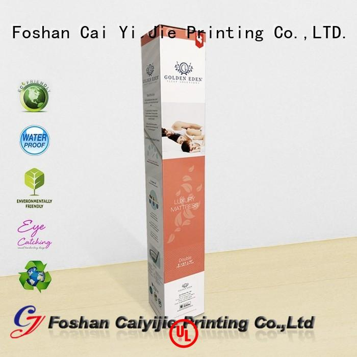 CAI YI JIE custom packaging boxes for cup display