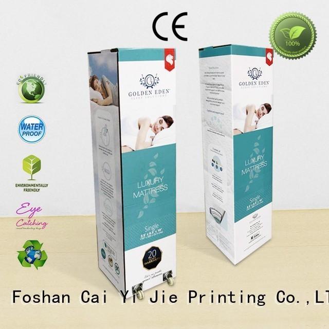 fancy custom packaging boxesprinted packaging box for milk display