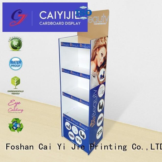 CAI YI JIE modeling cardboard display point for milk