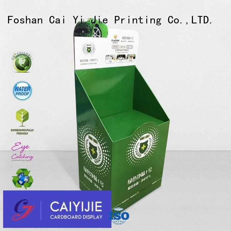 cardboard greeting card display stand floor step cardboard stand products company