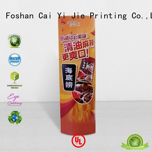 stands promotional CAI YI JIE Brand lama display