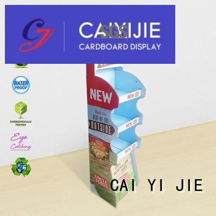 cardboard greeting card display stand stiand stand space cardboard stand manufacture