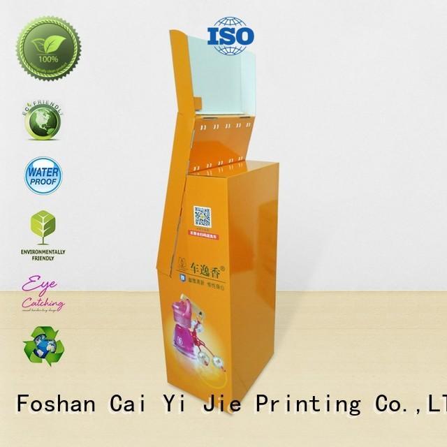 cardboard hook display sale for phone accessories CAI YI JIE