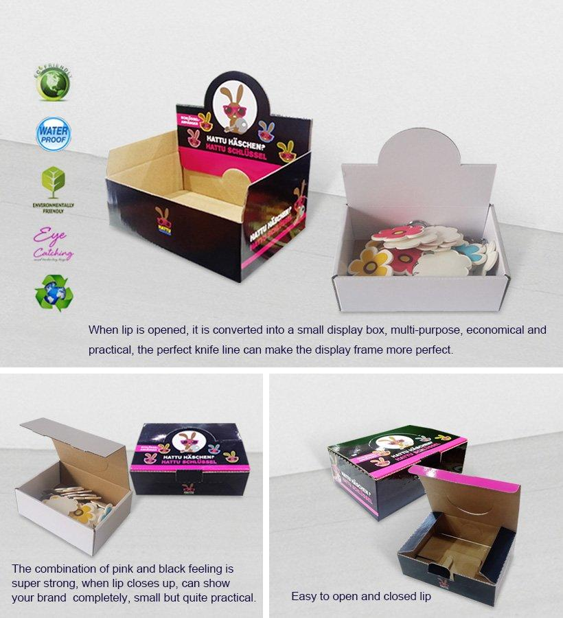 CAI YI JIE cardboard display boxes stands boxes for products-2