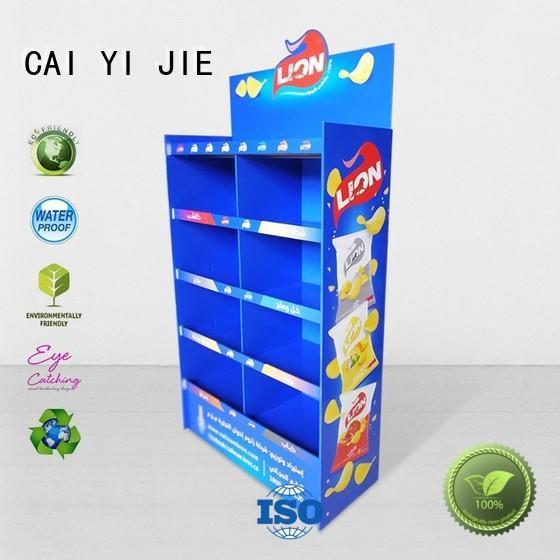CAI YI JIE Brand product cardboard cardboard stand manufacture