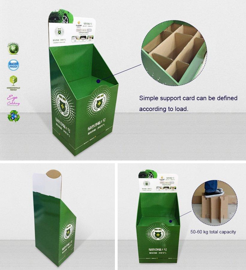 Cardboard Dumpbin For Supermarket-3