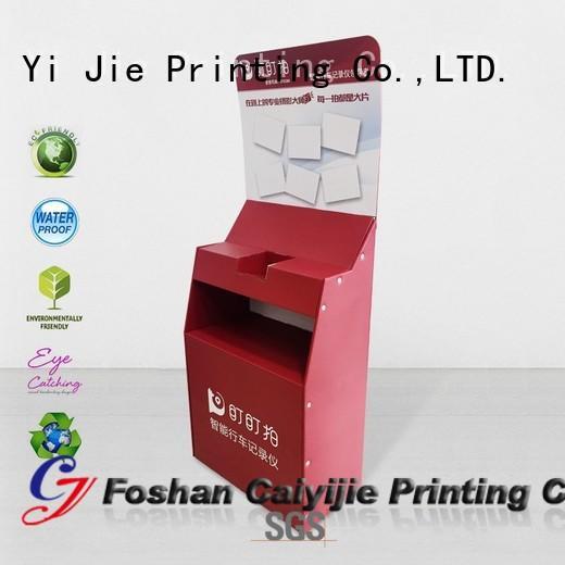 multifunctional cardboard retail display printing for milk