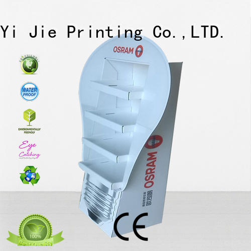 CAI YI JIE promotional cardboard display workbench for promotion