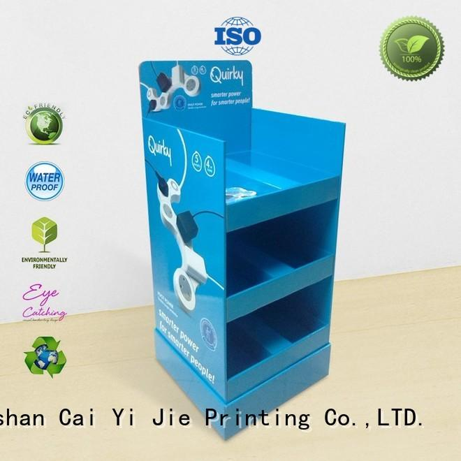 CAI YI JIE large point of purchase displays osram