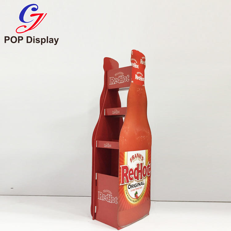 CAI YI JIE large cardboard display shelves sale for electronic lights for grids-3