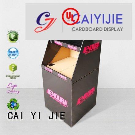bin display CAI YI JIE dumpbin