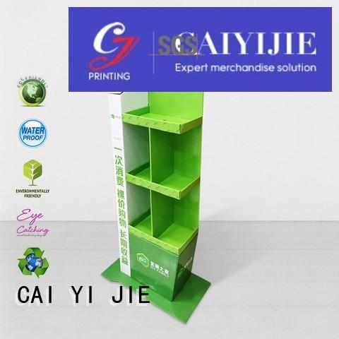 large cardboard poster stand items
