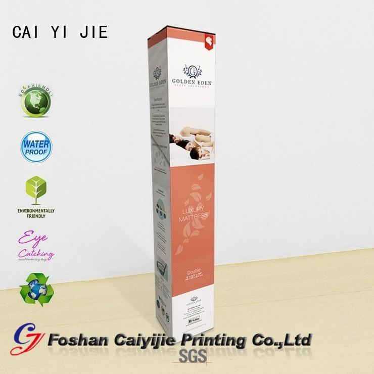OEM counter display box for yogurt display CAI YI JIE