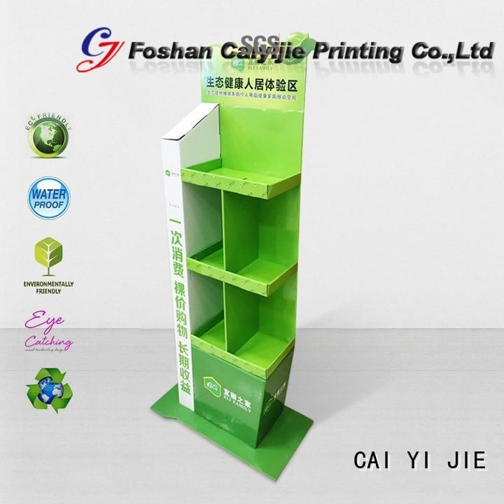 CAI YI JIE large cardboard tabletop display display for led light