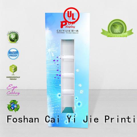 advertising stands cardboard CAI YI JIE Brand lama display manufacture