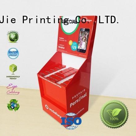 color printing sale hook display stand CAI YI JIE Brand company