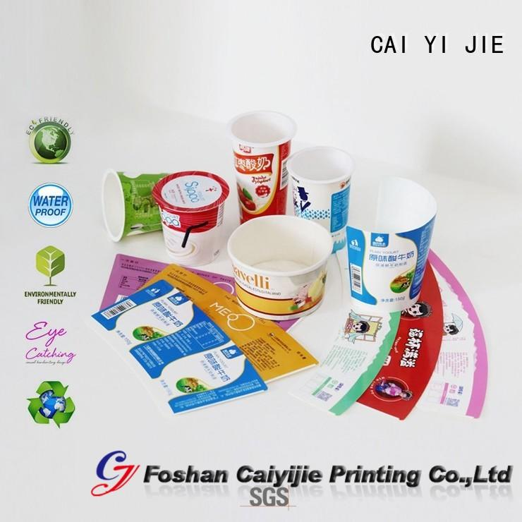 CAI YI JIE high-quality counter display box printed packaging box for retail