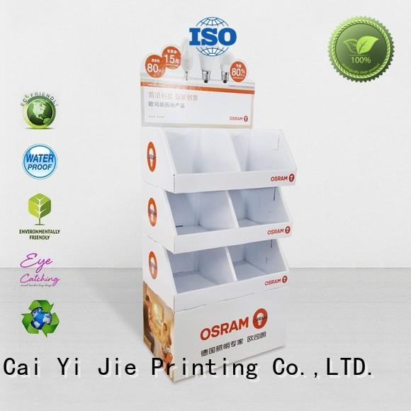 CAI YI JIE point of sale display operation for kitchen supplies