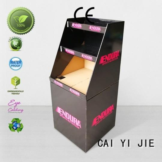 daily corrugated dump bins printing corrugated display for displays cheese CAI YI JIE