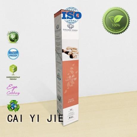 OEM custom packaging boxes customization for retail CAI YI JIE