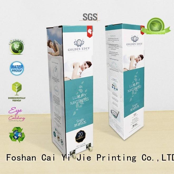 cardboard packaging paper for mattress display