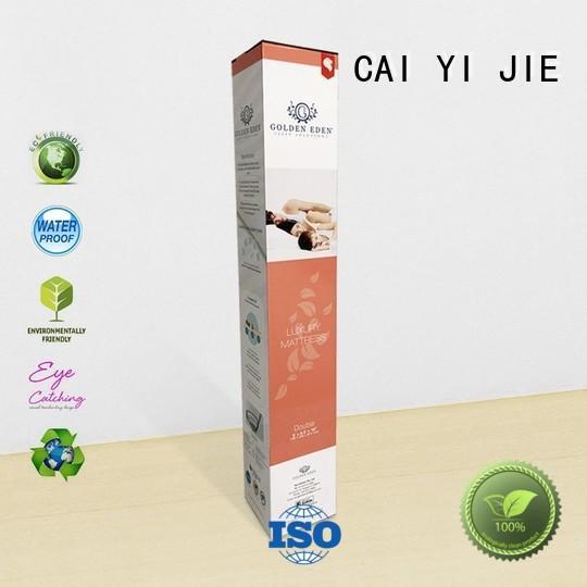 CAI YI JIE large cardboard packaging sleeves for retail